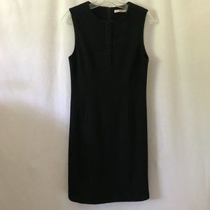 MAG Sleeveless Dress with Quarter-Zip at Neck